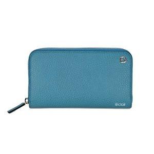 Gucci 449347 GG Logo Leather Zip Around Wallet